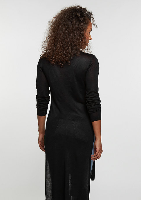 Urban Classics Sweatshirt Fine Knit Turtleneck Long black
