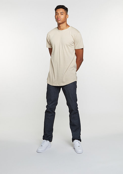Urban Classics T-Shirt Shaped Long sand