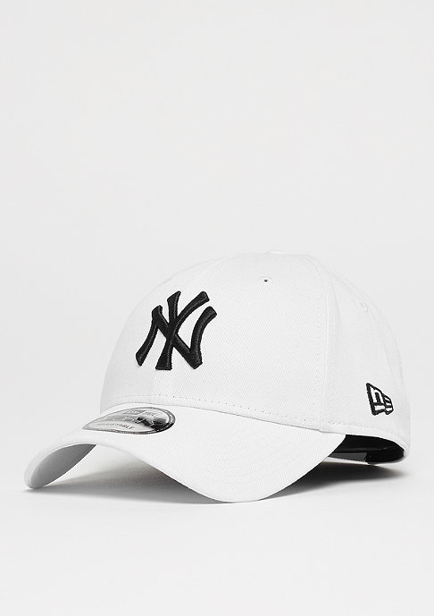 New Era Baseball-Cap 940 League Basic MLB New York Yankees white/black