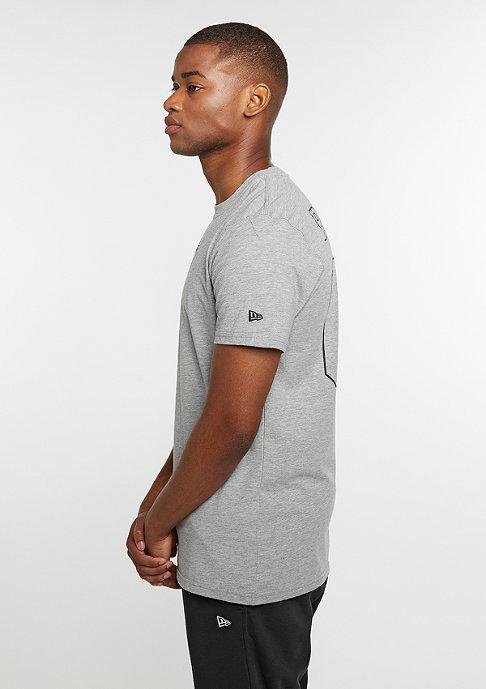 New Era T-Shirt Supporters NFL Oakland Raiders light grey heather