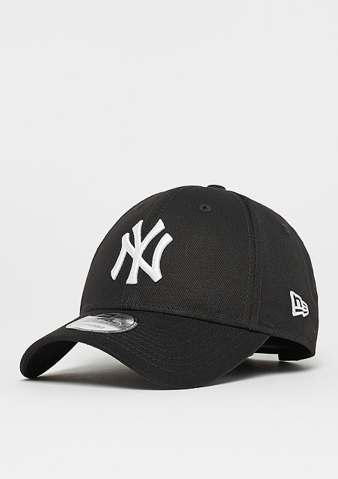 New Era Baseball-Cap 9Forty League Basic MLB New York Yankees black/white