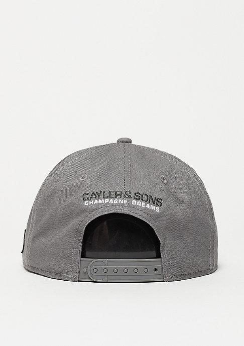 Cayler & Sons Snapback-Cap WL CHMPGN DRMS grey/mc