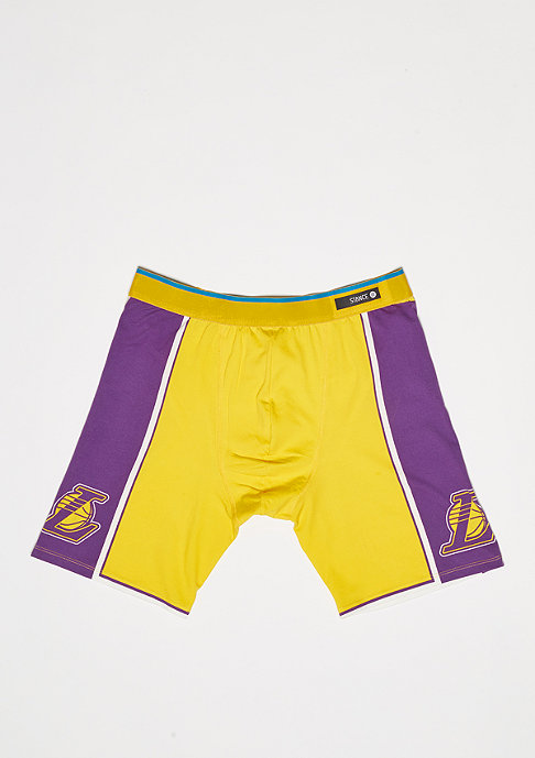 Stance Boxershort Los Angeles Lakers yellow