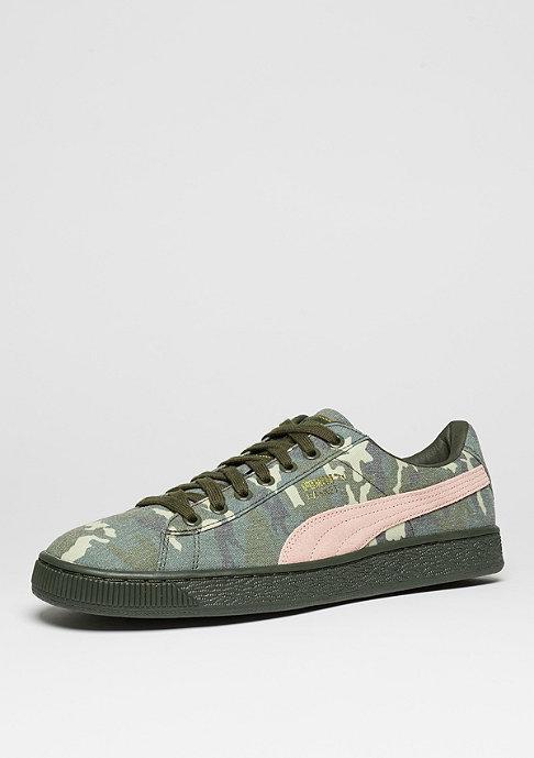 Puma Basket Camouflage green