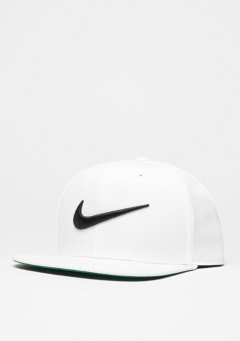 NIKE Snapback-Cap Swoosh Pro white/pine green/black/black