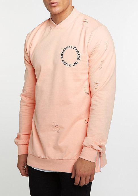 Criminal Damage Sweatshirt CD Dragon pink/multi