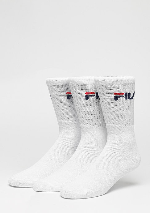 Fila Sportsocke Men 3-Pack F9505 white