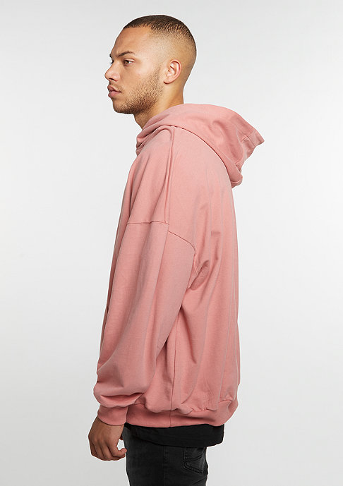 Future Past Hooded-Sweatshirt Oversized rose