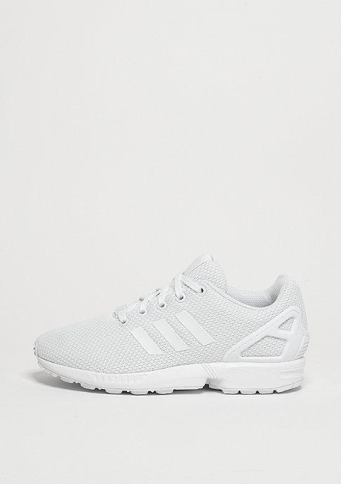 adidas Laufschuh ZX Flux white/white/white