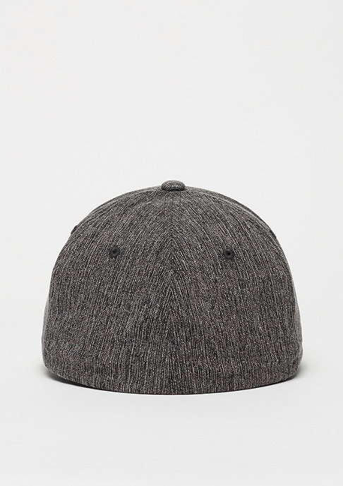 Nixon Baseball-Cap Deep Down Athletic Textured black woven