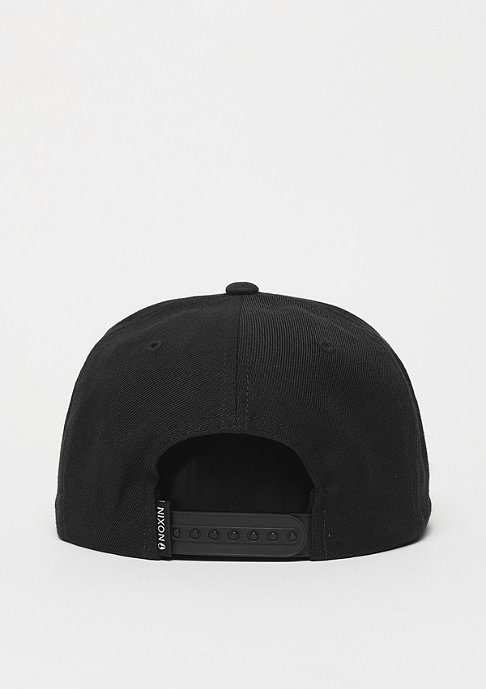 Nixon Snapback-Cap Exchange all black/black