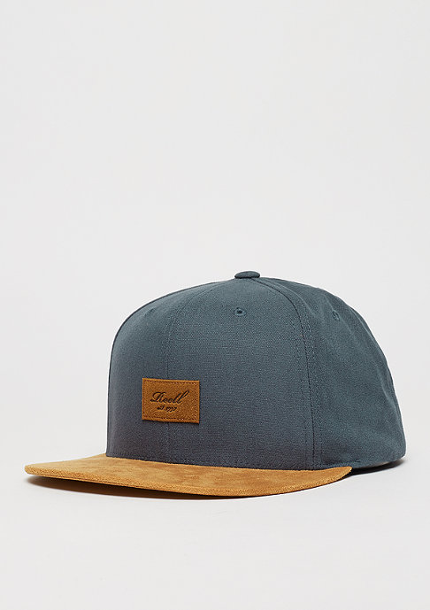 Reell Baseball-Cap Suede 6-Panel charcoal