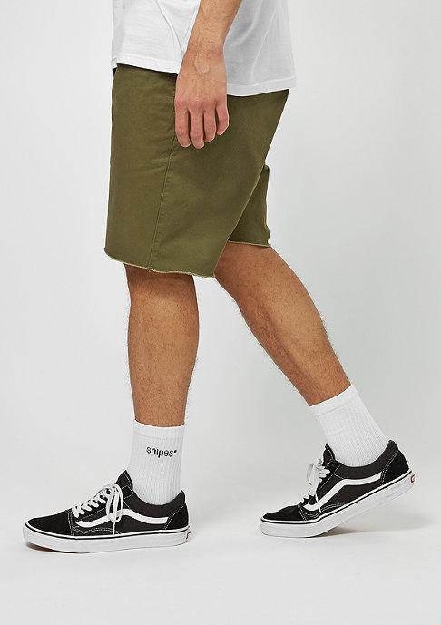 Brixton Chino-Shorts Madrid olive
