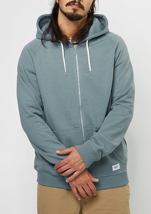 Reell Hooded-Zipper SP17 province blue