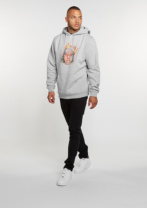 Mister Tee Hooded-Sweatshirt Sketch Hoody heather grey