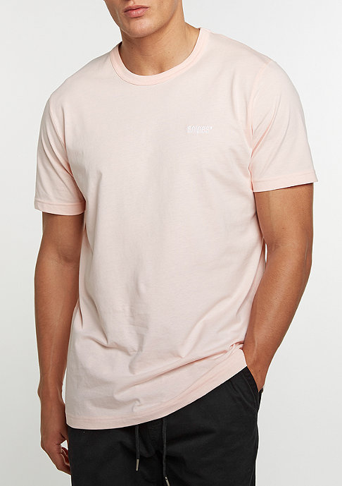 SNIPES Chest Logo crystal pink/white embroidery