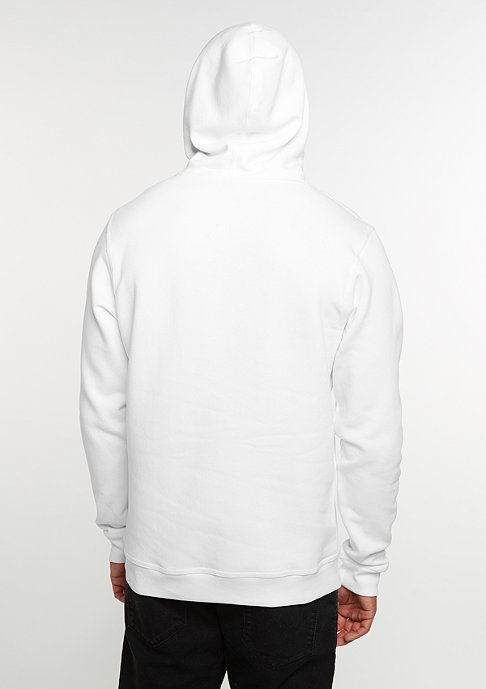 SNIPES Hooded-Sweatshirt Chest Logo white/black embroidery