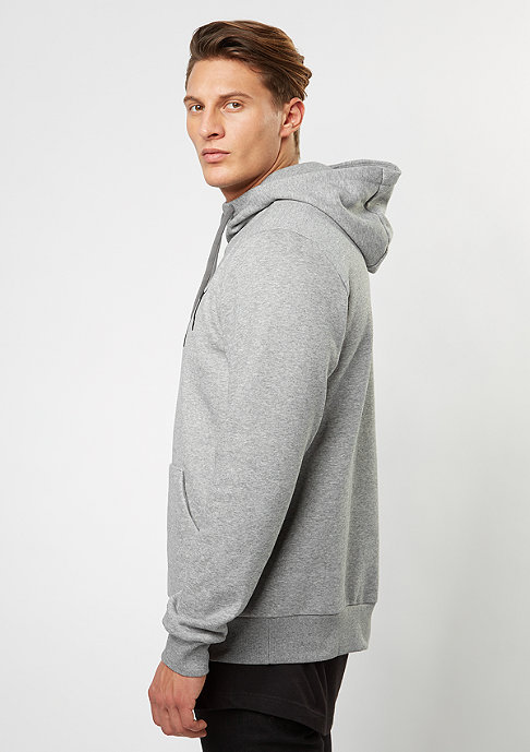 Puma Hooded-Sweatshirt ESS No. 1 medium grey heather/velvet
