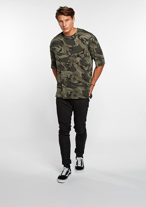 Sixth June T-Shirt 3/4 Sleeves camouflage