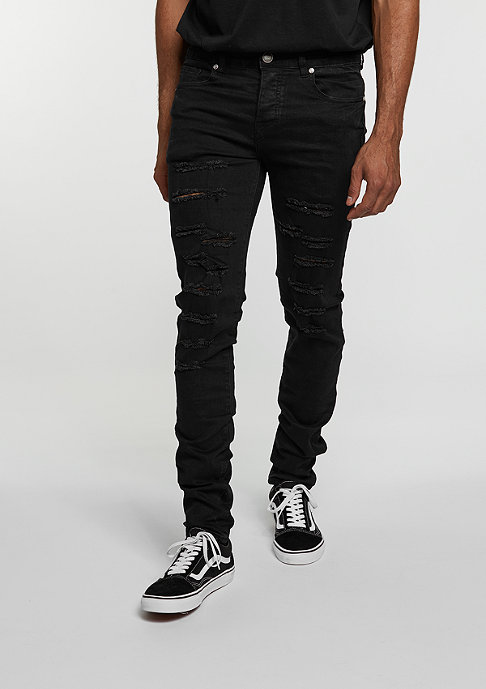 Sixth June Jeans Robal Destroyed black
