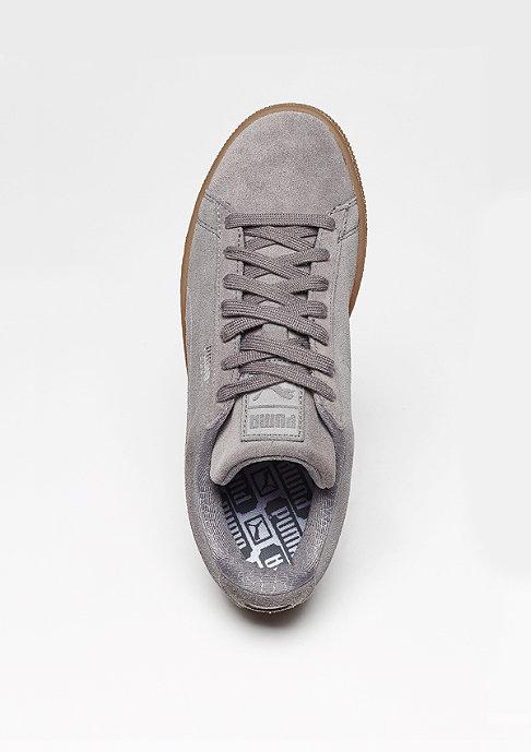 Puma Schuh Suede Classic Debossed Steel Grey/Peacoat