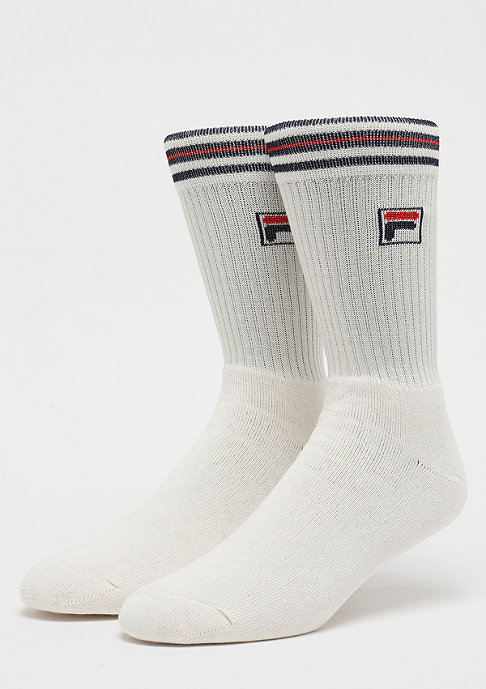 Fila Unisex Vintage Socks 1-Pair F1701 white
