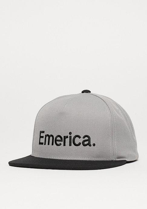 Emerica Snapback-Cap Pure grey/black