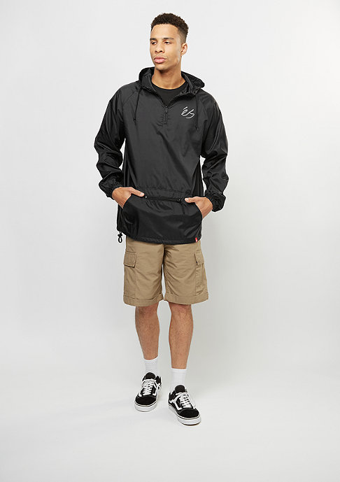 eS Übergangsjacke Packable Anorak black