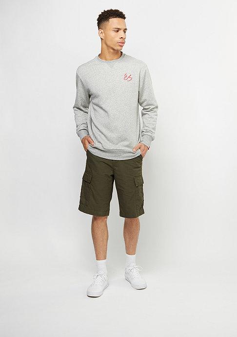 eS Sweatshirt Script Fleece grey/heather