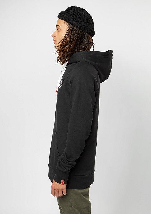 eS Hooded-Sweatshirt Script black