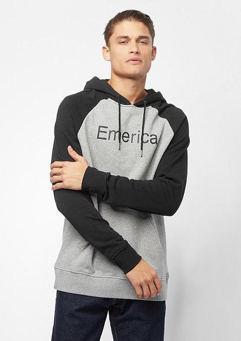 Hooded-Sweatshirt Purity black/grey