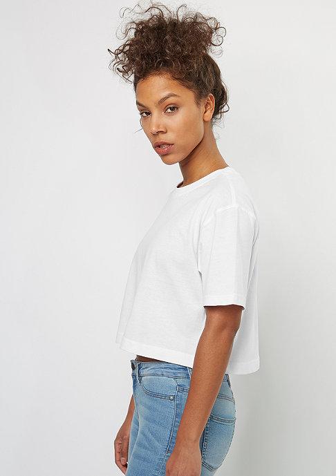 Urban Classics Ladies Short Oversized white