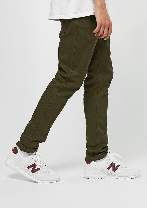 FairPlay Chino-Hose Twill Pant 03 olive