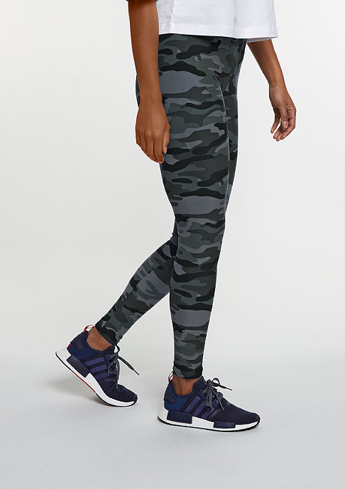 Urban Classics Leggings Camo dark camo