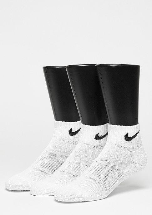 NIKE Sportsocke NK Cush QT 3er Pack white/black