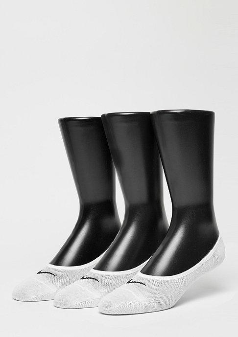 NIKE NK LTWT 3er Pack white/black