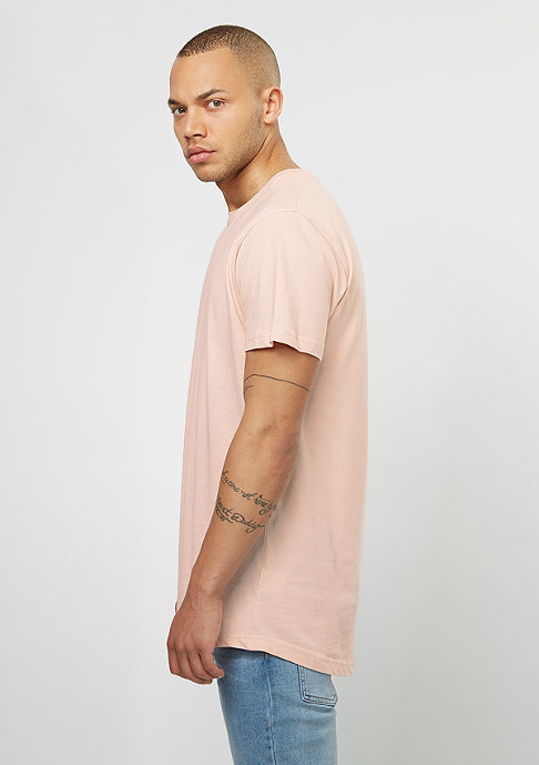 Urban Classics T-Shirt Shaped Long pink