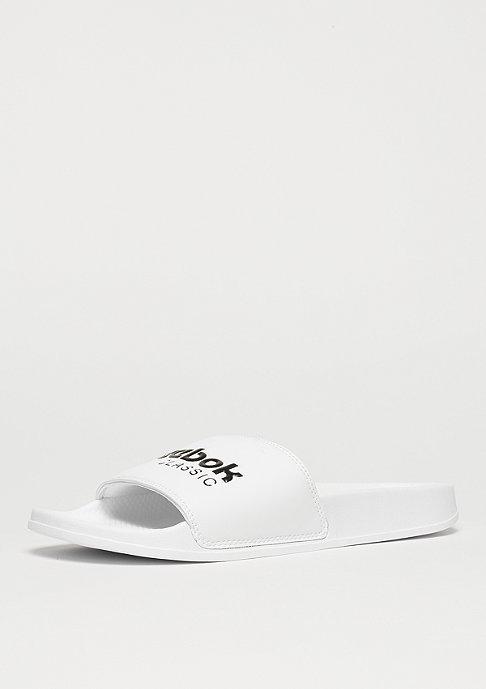 Reebok Badeschlappe Core Slide white/black