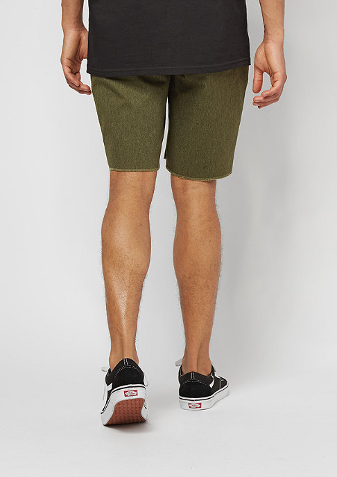 Brixton Toil II Standard Fit olive heather