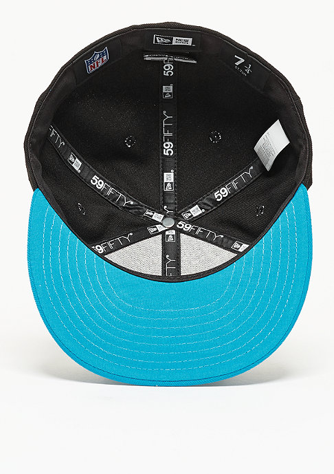New Era Fitted-Cap 59Fifty On Field NFL Carolina Panthers black