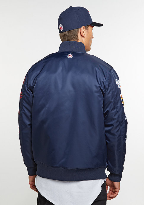 New Era Übergangsjacke NFL Patriots Bomber blue