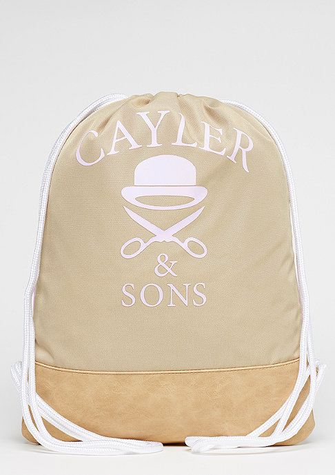Cayler & Sons WL Gymbag Real Good sand