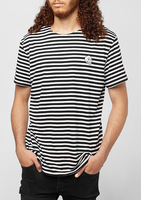 Cheap Monday Standard Prep Small Skull black stripes