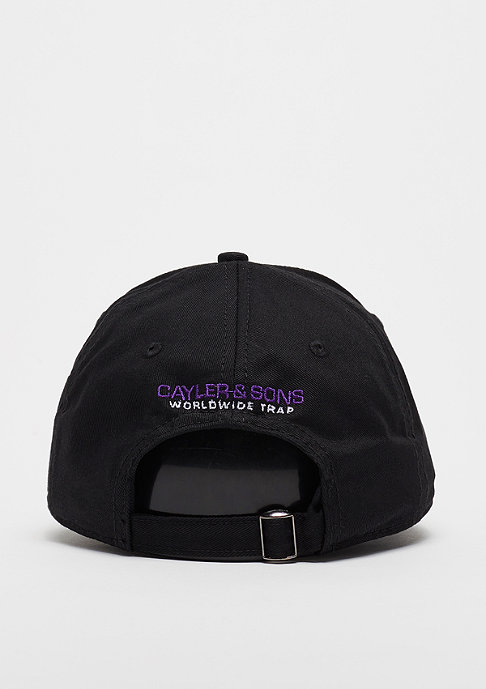 Cayler & Sons C&S WL Cap Curved Wicked black