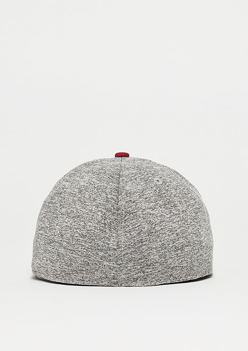 New Era 59Fifty Tech Jersey grey/cardinal