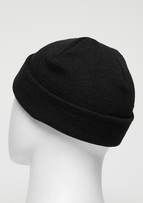 SNIPES Beanie Small Logo black/white