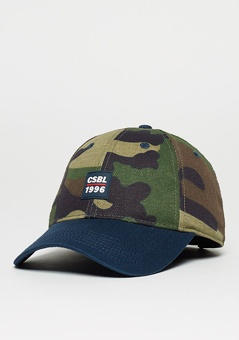 Baseball-Cap BL Ante Up woodland/navy