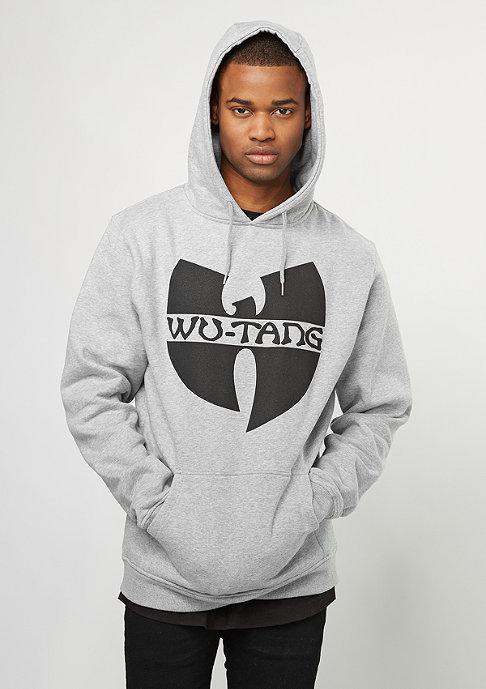 Wu-Wear Hooded-Sweatshirt Wu-Logo heather grey/black