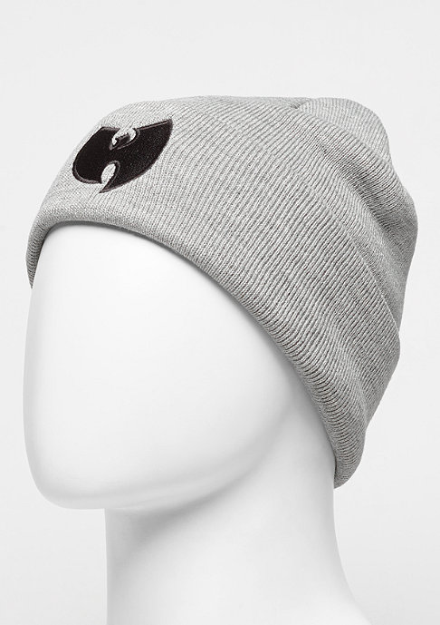 Wu-Wear Beanie Wu-Logo grey/black