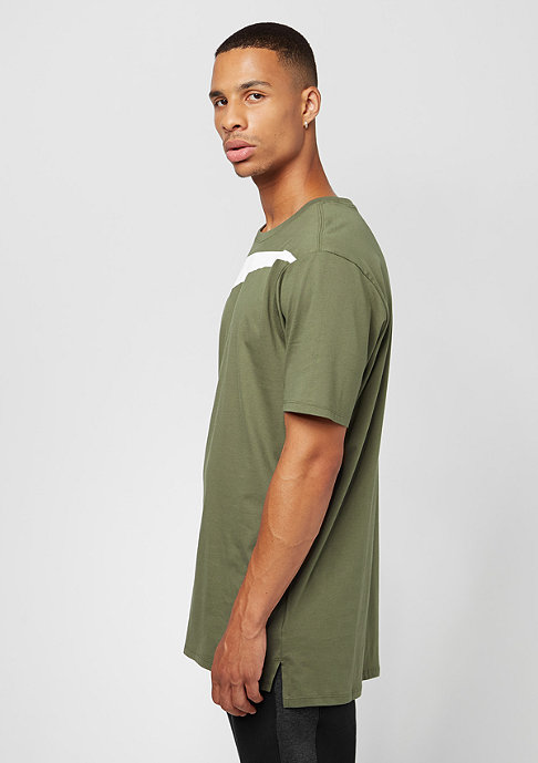 NIKE DRPTL Oversized Swoosh medium olive/white